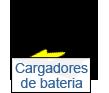 cargadores de batería