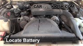 Battery Replacement: 1991-1996 Buick Roadmaster