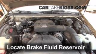 Add Brake Fluid: 1991-1996 Buick Roadmaster