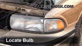 Headlight Change 1991-1996 Buick Roadmaster