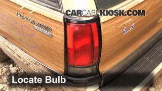 Reverse Light Replacement 1991-1996 Buick Roadmaster