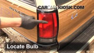 Tail Light Change 2000-2005 Cadillac DeVille