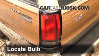 Brake Light Change 1991-1996 Buick Roadmaster