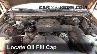 How to Add Oil Buick Roadmaster (1991-1996)
