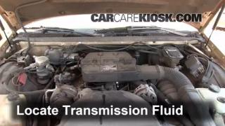 Add Transmission Fluid: 2000-2005 Cadillac DeVille