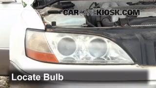 Highbeam (Brights) Change: 1992-1996 Toyota Camry