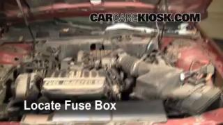 Blown Fuse Check 1996-1999 Ford Taurus