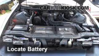 How to Clean Battery Corrosion: 1993-2002 Chevrolet Camaro