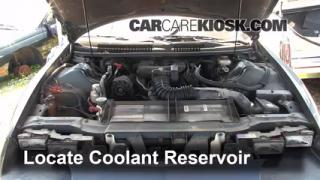 How to Add Coolant: Chevrolet Camaro (1993-2002)