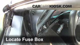 1993-2002 Chevrolet Camaro Interior Fuse Check