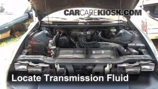 Add Transmission Fluid: 1993-2002 Chevrolet Camaro