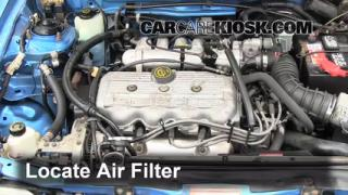 1991-1996 Mercury Tracer Engine Air Filter Check