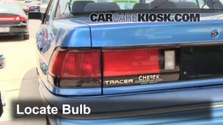 Tail Light Change 1991-1996 Mercury Tracer