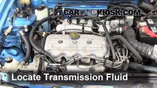 Add Transmission Fluid: 1991-1996 Ford Escort