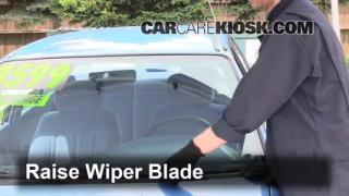 Front Wiper Blade Change Mercury Tracer (1991-1996)