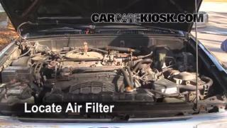 Air Filter How-To: 1990-1995 Toyota 4Runner