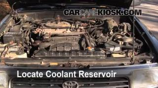 How to Add Coolant: Toyota 4Runner (1990-1995)