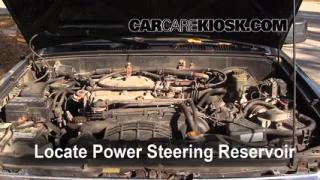 Follow These Steps to Add Power Steering Fluid to a Toyota 4Runner (1990-1995)