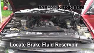 Add Brake Fluid: 1995-1997 Chevrolet Blazer