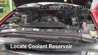 Coolant Level Check: 1990-1999 C1500
