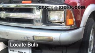 Parking Light Change 1995-1997 Chevrolet Blazer