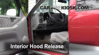 Open Hood How To 1995-2005 Chevrolet Blazer