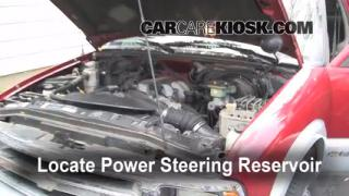 Follow These Steps to Add Power Steering Fluid to a GMC C1500 (1990-1999)