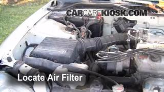 1988-1991 Honda CRX Engine Air Filter Check