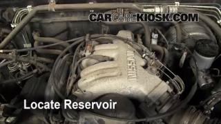 Add Windshield Washer Fluid Nissan Pathfinder (1996-2000)