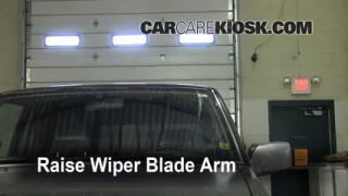Front Wiper Blade Change Nissan Pathfinder (1996-2000)