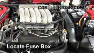 Replace a Fuse: 2008-2013 Dodge Avenger