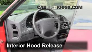 Open Hood How To 2008-2013 Dodge Avenger