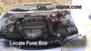 Replace a Fuse: 1995-1999 Mitsubishi Eclipse