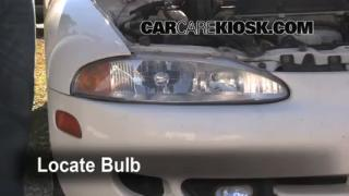Headlight Change 1995-1999 Mitsubishi Eclipse