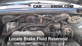 Add Brake Fluid: 1990-1997 Oldsmobile Cutlass Supreme
