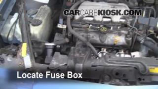 Replace a Fuse: 1990-1997 Oldsmobile Cutlass Supreme