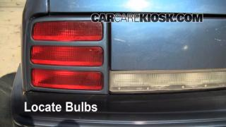 Brake Light Change 1990-1996 Oldsmobile Cutlass Ciera