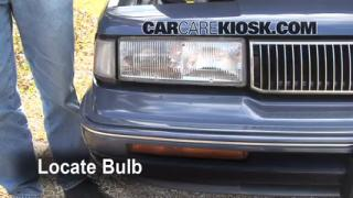 Highbeam (Brights) Change: 1990-1996 Oldsmobile Cutlass Ciera