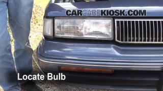 Headlight Change 1990-1996 Oldsmobile Cutlass Ciera