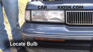 Parking Light Change 1990-1996 Oldsmobile Cutlass Ciera