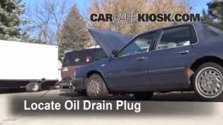 Oil & Filter Change Oldsmobile Cutlass Ciera (1990-1996)