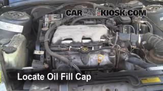 How to Add Oil Oldsmobile Cutlass Ciera (1990-1996)