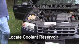 How to Add Coolant: Plymouth Breeze (1996-2000)