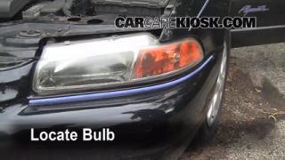 Parking Light Change 1996-2000 Plymouth Breeze