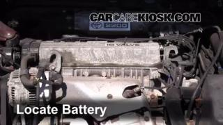 Battery Replacement: 1992-1996 Toyota Camry
