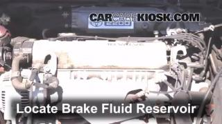 Add Brake Fluid: 1992-1996 Toyota Camry