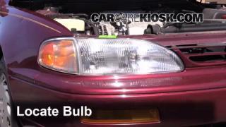 Headlight Change 1992-1996 Toyota Camry