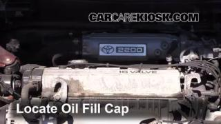 How to Add Oil Toyota Camry (1992-1996)