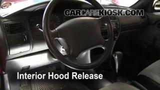 Open Hood How To 1993-1997 Toyota Corolla