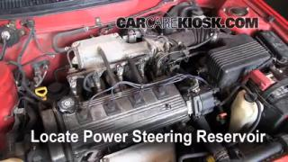 Power Steering Leak Fix: 1995-1998 Toyota Tercel